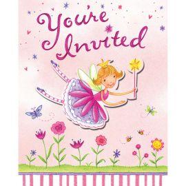 8 Invitations Fée
