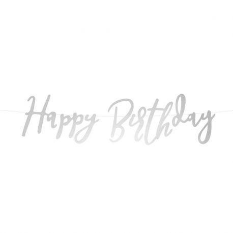 Guirlande Happy Birthday Deluxe