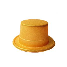 Chapeau avec Paillettes Métallisé