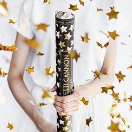Canon à Confettis Étoiles 60 cm