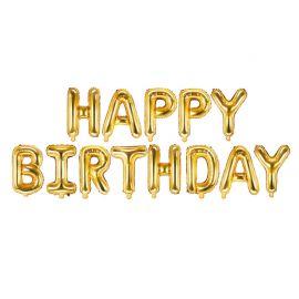 Ballons Happy Birthday de 35 cm