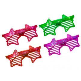 Lunettes LED Étoile