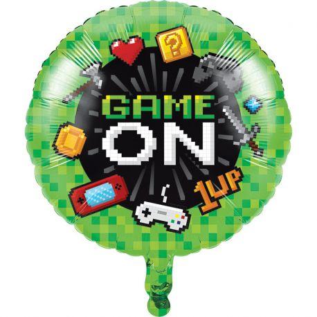 Ballon Jeux-vidéos Mylar 46 cm
