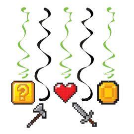 5 Suspensions Jeux-vidéos