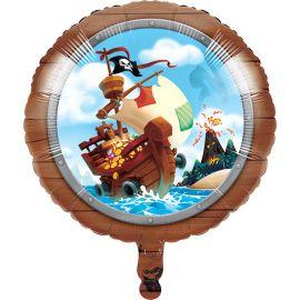 Ballon Trésor Pirate Mylar 46 cm
