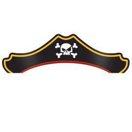 8 Chapeaux Trésor Pirate