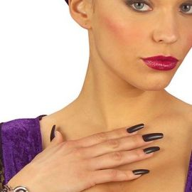 Ongles Longs Noirs