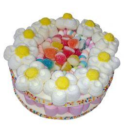 Tarta de Chuches con Flores