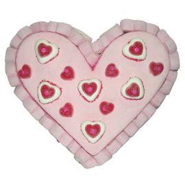 Tarta de Golosinas en Forma de Corazón