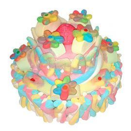Gâteau de Bonbons de Couleurs 2 Étages