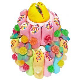 Gâteau de Bonbons Multicolore