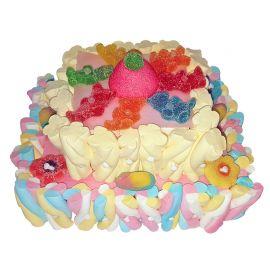 Gâteau de Bonbons Rectangulaire