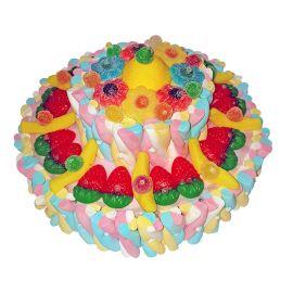 Gâteau de 2 Étages de Bonbons