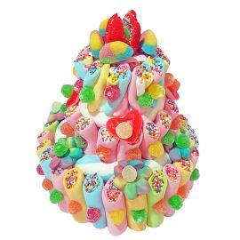 Gâteau Multicolore de Bonbons