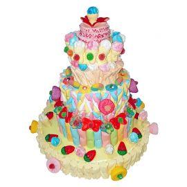Gâteau de Bonbons Haut
