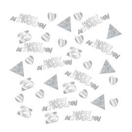 Confeti Bodas de Plata 28g