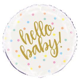 Ballon Hello Baby Mylar 46 cm