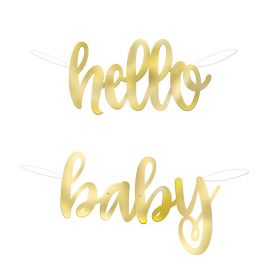 Bannière Hello Baby 1 m