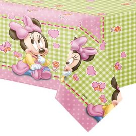 Nappe en Plastique Baby Minnie 120 x 180 cm