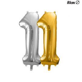 Ballon Numero 1 Aluminium 86 cm