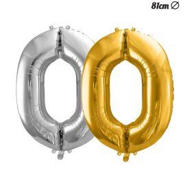 Ballon Numero 0 Aluminium 86 cm