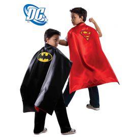 Cape Réversible Batman / Superman Enfant