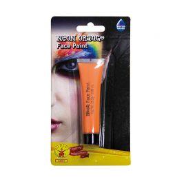 Maquillage Néon Orange Pour Visage