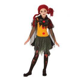 Déguisement de Zombie Clown Fille Adolescents