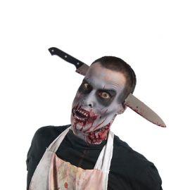 Serre Tête Zombie avec Couteau