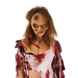 Masque de Zombie Halloween Demi-Visage