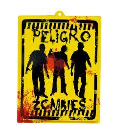 Poster Danger Zombies 46 x 35 cm
