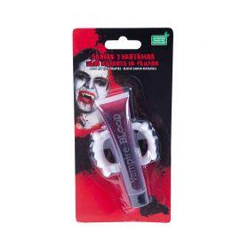 Sang et Fausses Dents d'Halloween