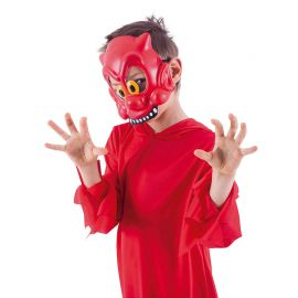 Demi-Masque du Diable Enfant
