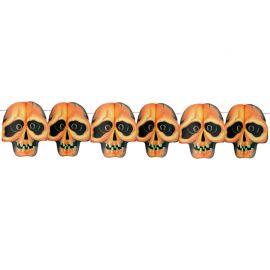 Guirlande Crâne Imprimée Halloween