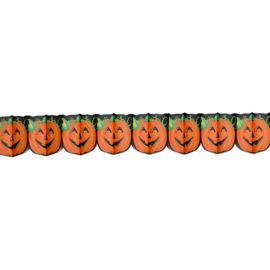 Guirlande Citrouille Imprimée Halloween
