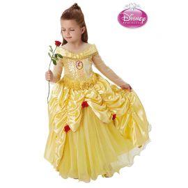 Déguisement de Belle avec Fleurs pour Enfants