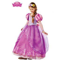 Déguisement Élégant de Princesse Raiponce pour Enfants