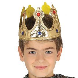 Couronne de Roi en Tissu pour Enfants