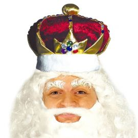 Chapeau du Roi avec Coiffe Rouge
