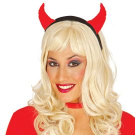 Serre-Tête de Diable en Tissu