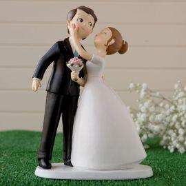 Figurine de Mariés s'Embrassant