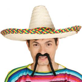 Chapeau Mexicain de Couleur 50 cm