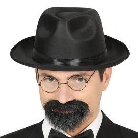 Chapeau de Gangster avec un Bandeau noir