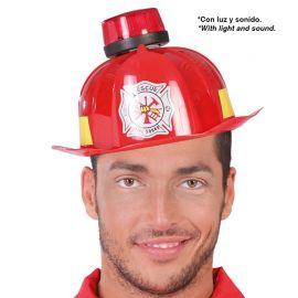 Casque de Pompier avec Sirène