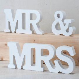 Décoration MR & MRS Blanche