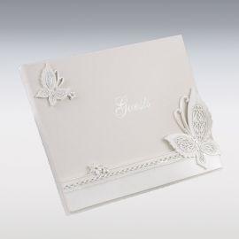 Livre d'Or Papillons 23 cm x 19 cm