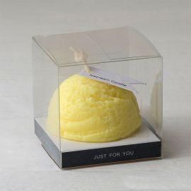 6 Bougies Aromatiques Fragrance Citron en Boîte 6 cm x 6 cm