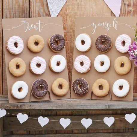 2 Murs de Donuts Rustique