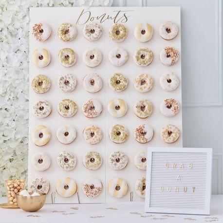 Mur de Donuts 84 cm x 64 cm