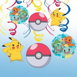 6 Pendentifs Pokémon